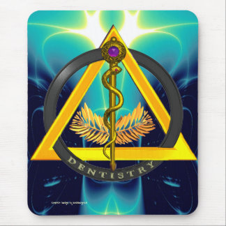 ROD OF ASCLEPIUS DENTIST DENTISTRY MOUSE PAD