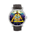 ROD OF ASCLEPIUS DENTIST DENTISTRY SYMBOL, Blue Wrist Watches