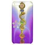 ROD OF ASCLEPIUS WITH 7 CHAKRAS ,SPIRITUAL ENERGY iPhone 5C COVERS