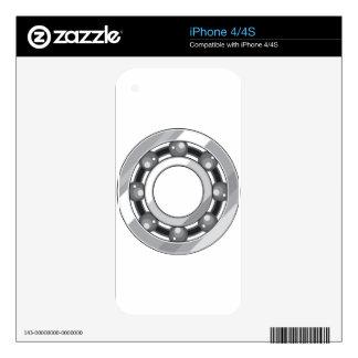 Rodamiento de bolitas skins para eliPhone 4S