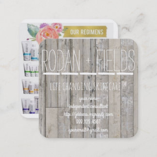 Rodan and Fields Business Card