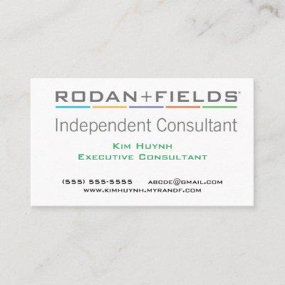 Rodan and fields business card zazzle colourmoves