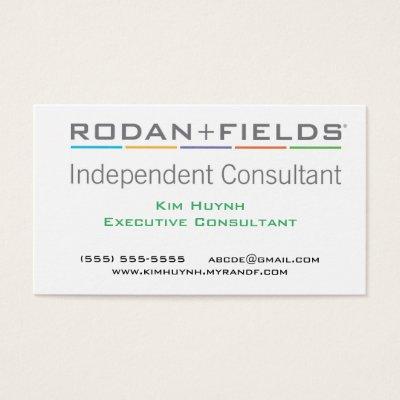 Rodan Fields Business Card Zazzlecom