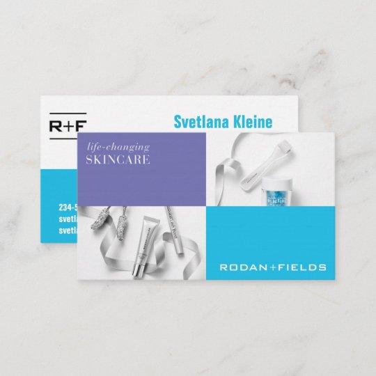 Rodan and fields business cards zazzle rodan and fields business cards colourmoves
