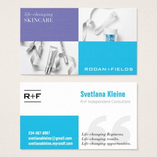 rodan fields business card