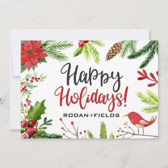 Rodan And Fields Happy Holidays Cards