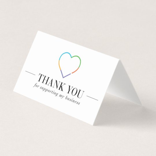 Rodan And Fields Thank You Card