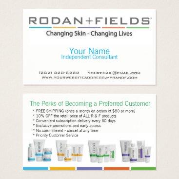 Professional Business Rodan & Fields Business Card