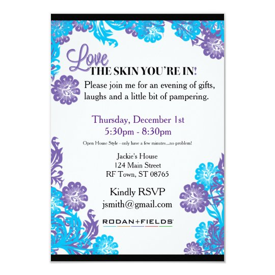 Rodan Fields Invitation Template Zazzle Com