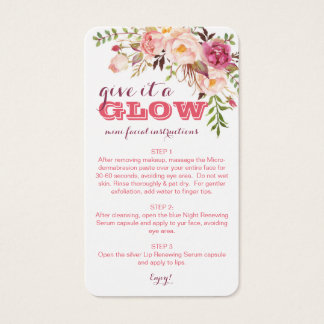 Facial Business Cards & Templates | Zazzle