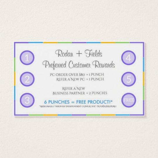Rodan + Fields Referral Rewards and Business Card | Zazzle.com