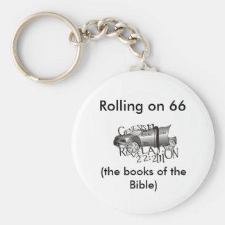 Rodando en 66, (los libros de t… llavero redondo tipo pin