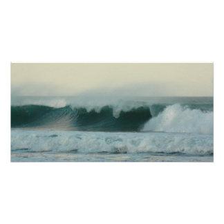 """""""Rodando en"""" las ondas y el viento, impresión de Fotografías"""