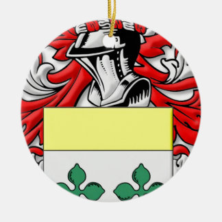 Roddy Coat of Arms Double-Sided Ceramic Round Christmas Ornament