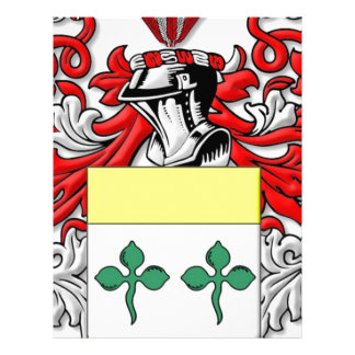 Roddy Coat of Arms Custom Letterhead