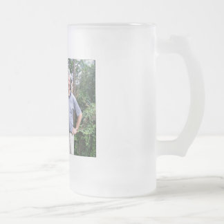 RODDY FROSTED GLASS BEER MUG