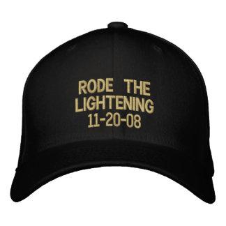 Rode the Lightening 11-20-08 Baseball Cap