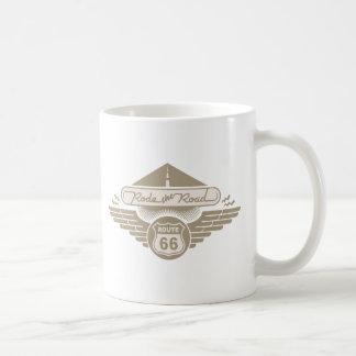 Rode the Road -gold Coffee Mug