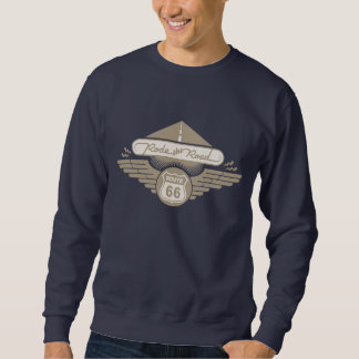 Rode the Road -gold Pullover Sweatshirts