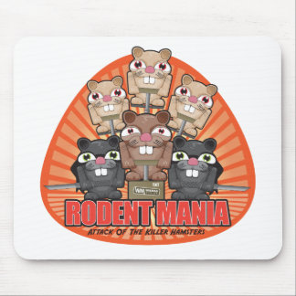 Rodent Mania Mouse Pad