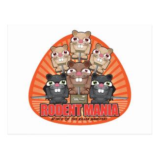Rodent Mania Postcard