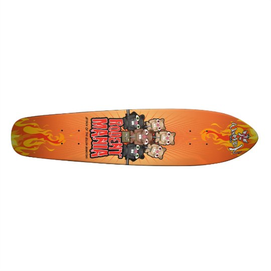 Rodent Mania Skateboard