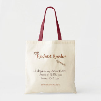 Rodent Reader Logo Tote