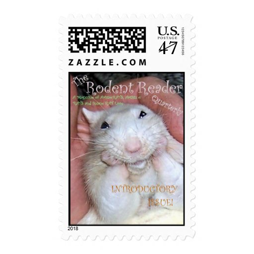 Rodent Reader Postage - Intro Issue Cover