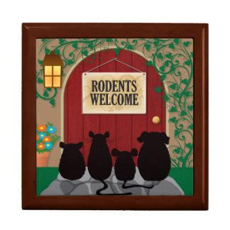 Rodents Welcome Keepsake Box