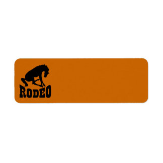 RODEO09 RODEO HORSE LOGO ICON GRAPHIC VECTOR STAMP LABEL