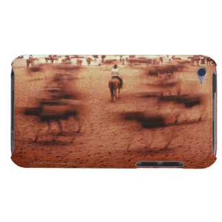 Rodeo arena,blurred motion,Texas, USA Barely There iPod Cover