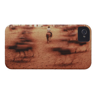 Rodeo arena,blurred motion,Texas, USA iPhone 4 Cover