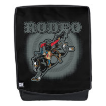Rodeo Bareback Bronc Rider Backpack