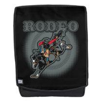 Rodeo Bareback Bronc Rider Backpack