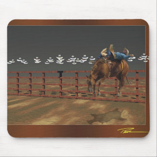 Rodeo - Bareback - Sit Down, Shut Up and Hang On Mouse Pad