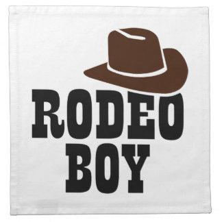 Rodeo boy napkin