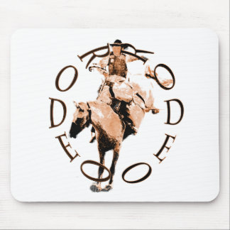 Rodeo Bronc Mouse Pad
