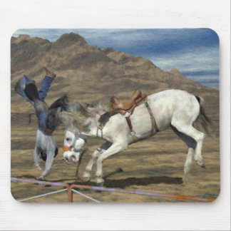 Rodeo - Bronc Riding - Get Well Soon Mousepads