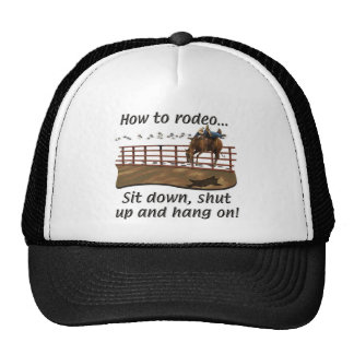 Rodeo - Broncs - cómo al rodeo Gorro
