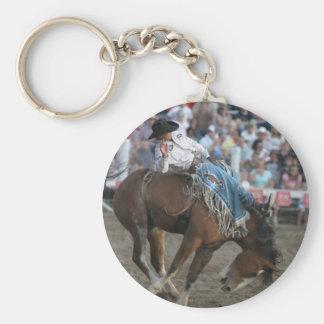Rodeo Bucking Bronco Keychain