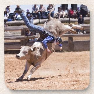 Rodeo Bucking Bull Posavasos