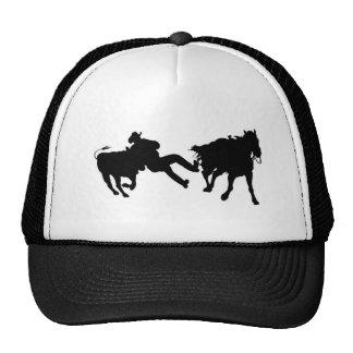 Rodeo - buey Rasslin - buey que lucha Gorra