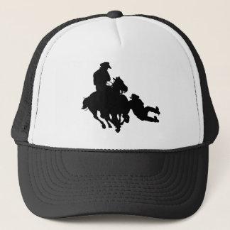 Rodeo - Bull Dogging; steer wrestling Trucker Hat