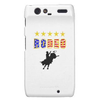 RODEO BULL RIDER DROID RAZR COVERS