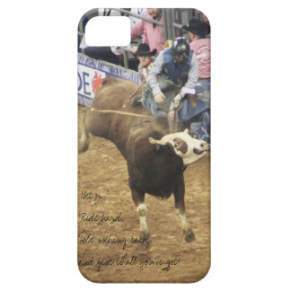 Rodeo Bull RIder, iPhone Case iPhone 5 Cases