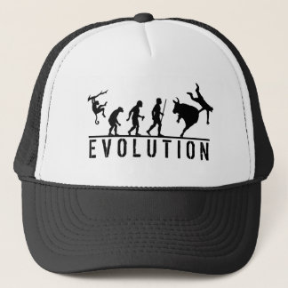 Rodeo Bull Riding Evolution Trucker Hat