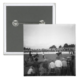 Rodeo 2 Inch Square Button