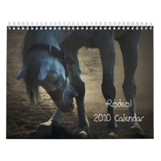 ¡Rodeo! Calendario 2010