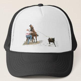 Rodeo - Calf Tying; Calf Roping Trucker Hat