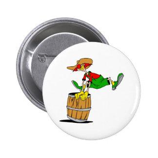 Rodeo Clown Buttons